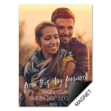 This Day Forward - Save the Date Magnet