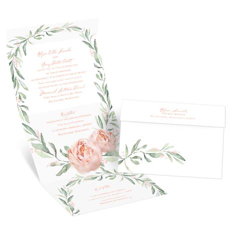 Blush Beauty Seal and Send Invitation
