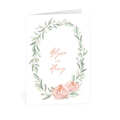 Blush Beauty Thank You Card