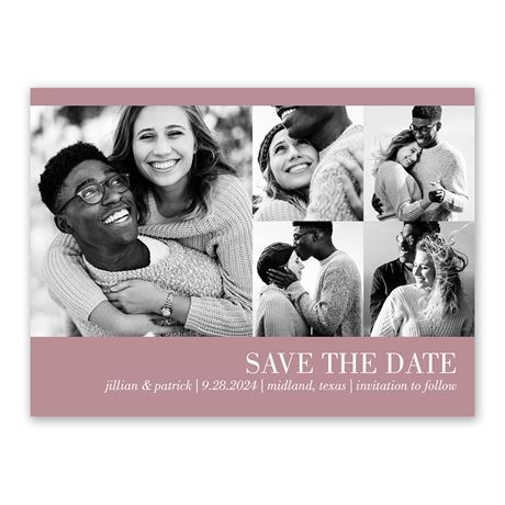 Photo Collage - Save the Date