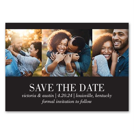 Stunning Snapshots - Save the Date Magnet