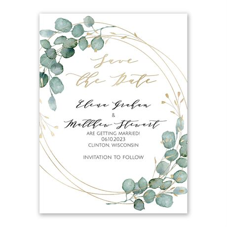 Eternity Save the Date
