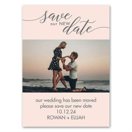 Save our New Date - Change the Date Magnet