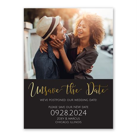 Unsave the Date - Change the Date