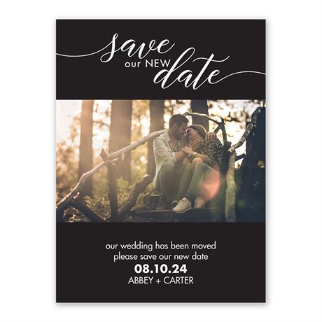 Our New Date - Change the Date