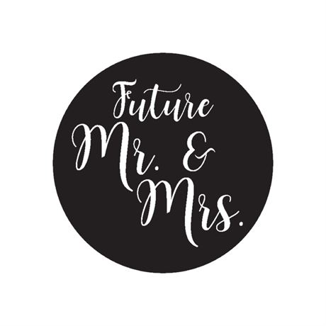 Future Mr. and Mrs. - Envelope Seal