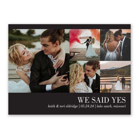 Newlyweds - Wedding Announcement