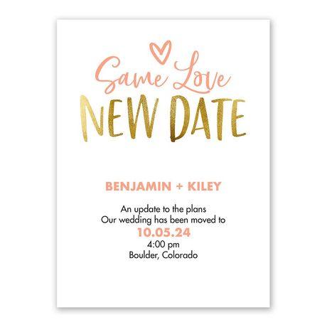 Same Love Change the Date
