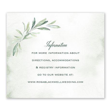 Breathtaking - Information Card