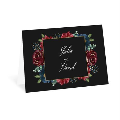 Opulence Thank You Card