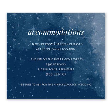 Starry Sky - Information Card