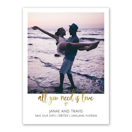 All You Need is Love - Save the Date
