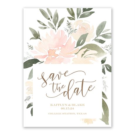 Soft Petals - Save the Date