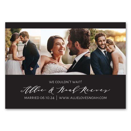 Sweet Snaps - Wedding Announcement Magnet