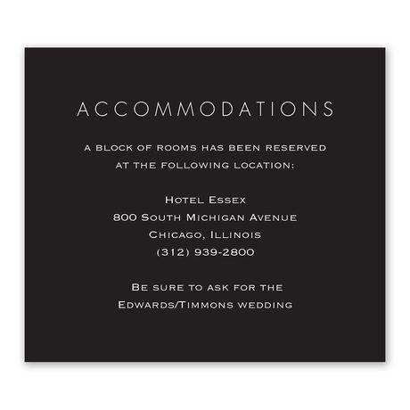 Gold Elegance - Information Card