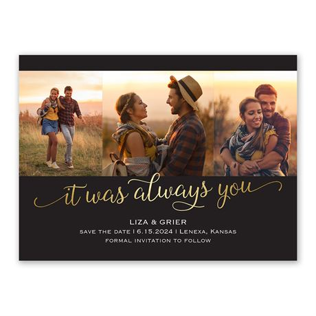 Always You Save the Date