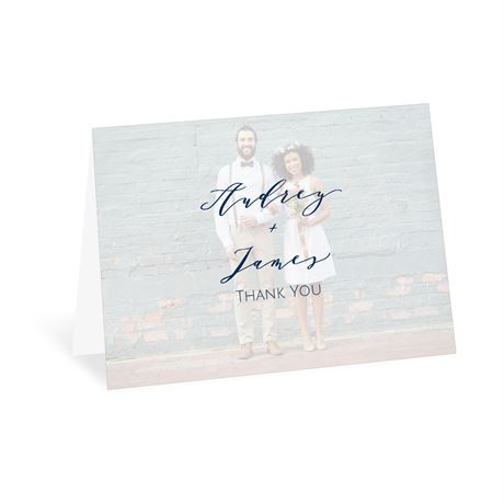 You and Me - Thank You Card