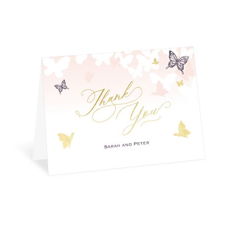Aflutter - Thank You Card