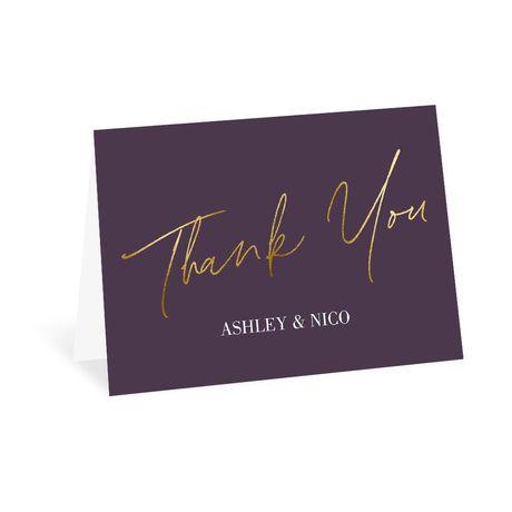 Finally - Thank You Card