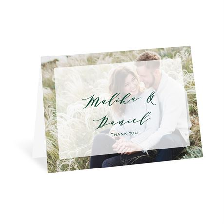 Sheer Bliss - Thank You Card