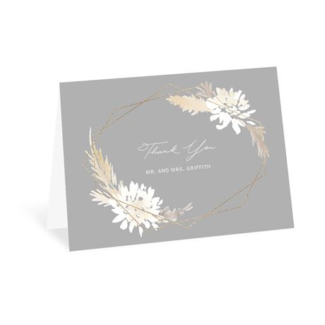 Naturally Glam - Thank You Card