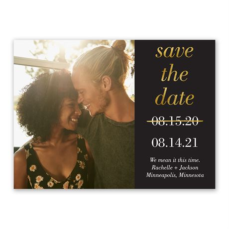 A New Date Save the Date
