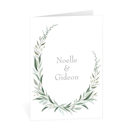 Wrapped in Greenery Thank You Card