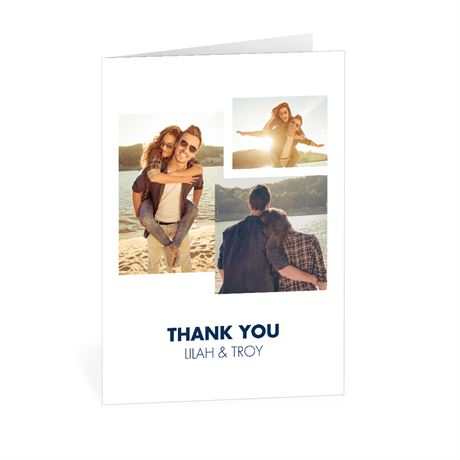 Simple Love - Thank You Card