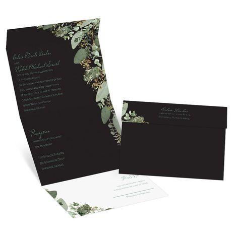 Bold Botanical - Seal and Send Invitation