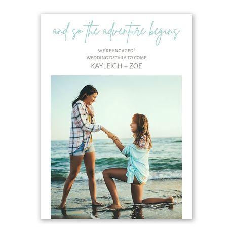 Adventure Begins - Engagement Announcement
