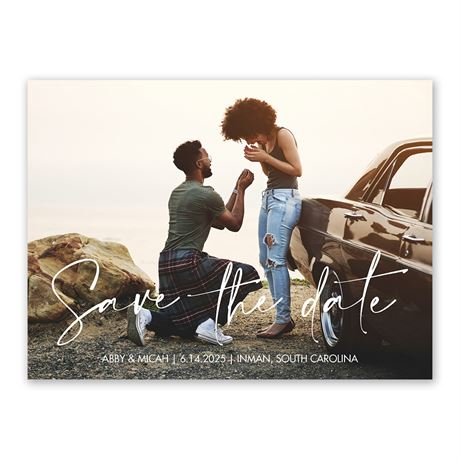 The Moment Save the Date