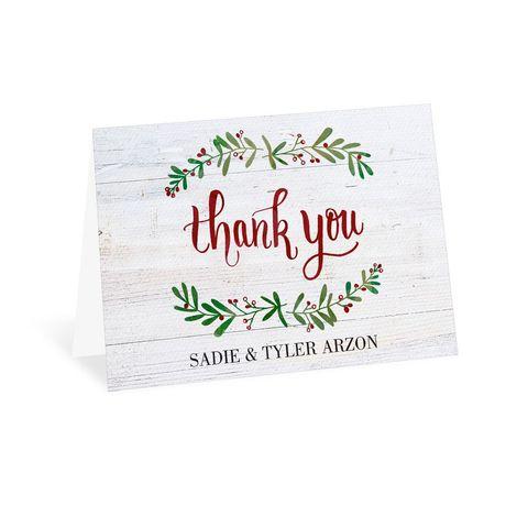 The Season Thank You Card