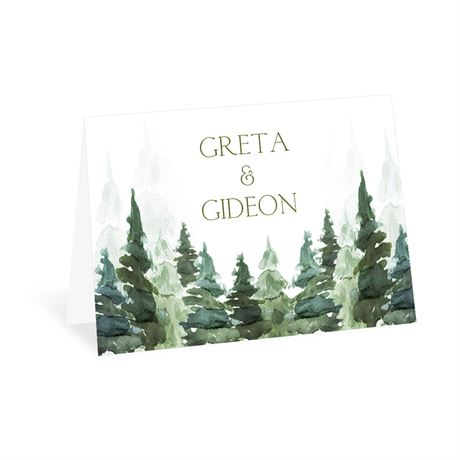 Enchanted Woods Thank You Card