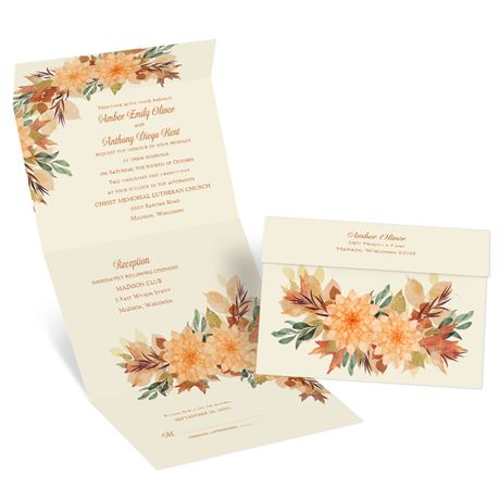 Fall in Love Seal and Send Invitation