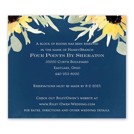 Jar of Flowers Information Card