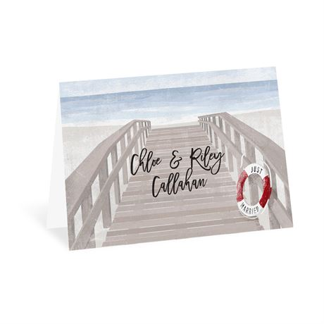 By the Seashore Thank You Card