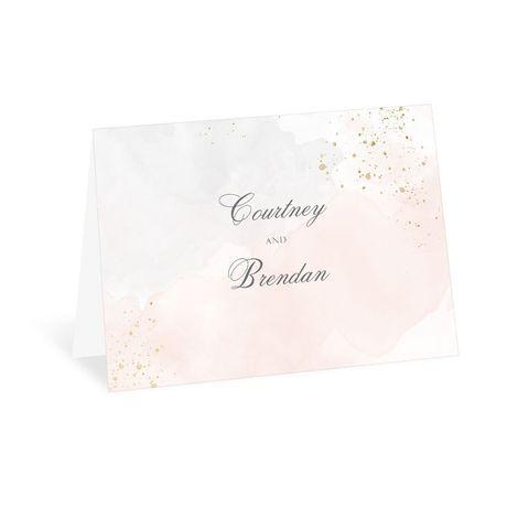 Sweetly Serene Powder Thank You Card