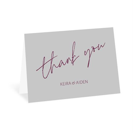 Adventure Begins Thank You Card