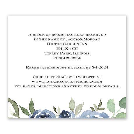 Slate Rose Information Card