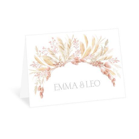 Boho Beauty Thank You Card