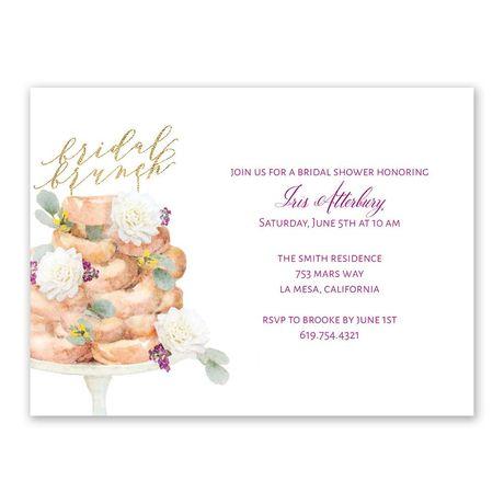 Sweet Celebration Bridal Shower Invitation