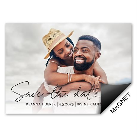 My Love Save the Date Magnet
