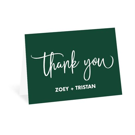We Tied the Knot Thank You Card