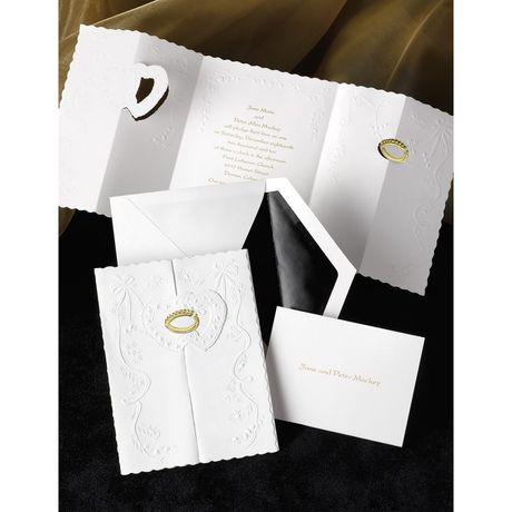 Ring of Love - Gold -  Invitation