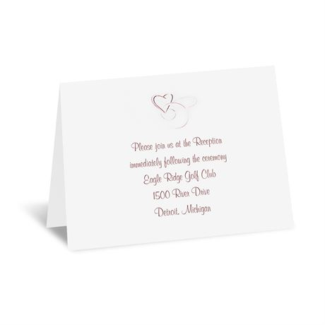 Skipped A Beat  Reception Card