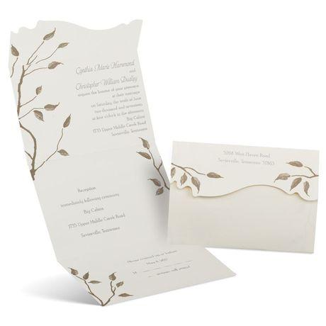 Autumn - Seal and Send Invitation