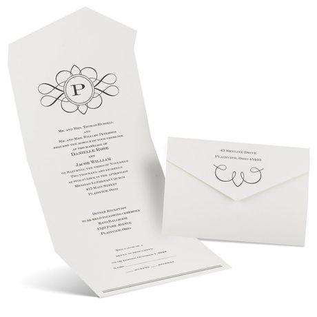 Love Declared - Seal and Send Invitation