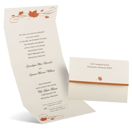 Copper Creations - Seal and Send Invitation