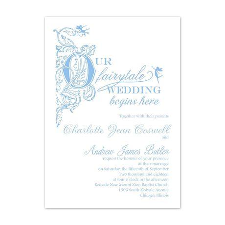 Our Fairytale - Invitation