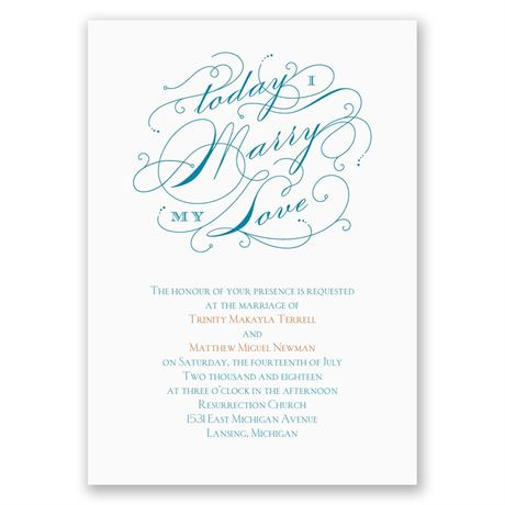 My Love - Invitation